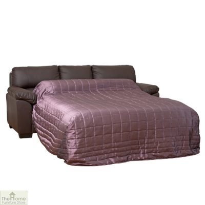 Toledo Leather 3 Seat Sofa Bed_3