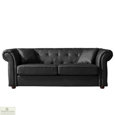 Knightsbridge Leather 2 Seat Sofa_1