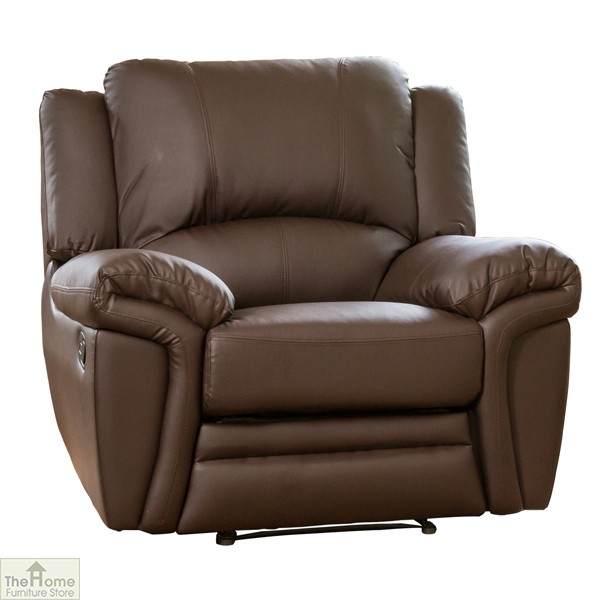 Harrington Leather Reclining Armchair