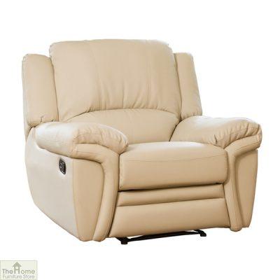 Harrington Leather Reclining Armchair_2