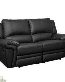 Harrington Leather 2 Seat Reclining Sofa_1