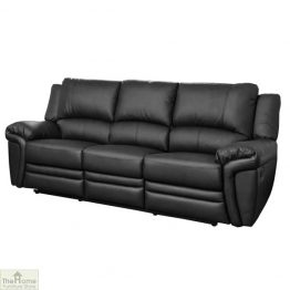 Harrington Leather 3 Seat Reclining Sofa_1