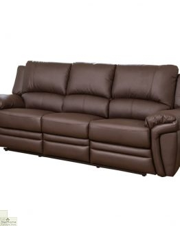 Harrington Leather 3 Seat Reclining Sofa