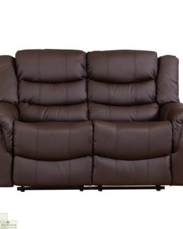 Livorno Leather 2 Seat Reclining Sofa_1