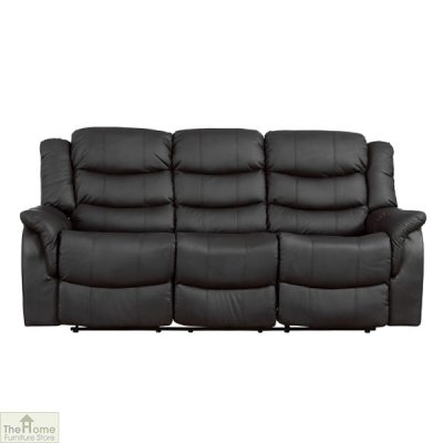 Livorno Leather 3 Seat Reclining Sofa_2