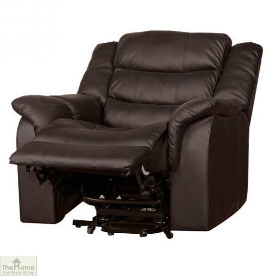 Livorno Leather Reclining Massage Armchair_6