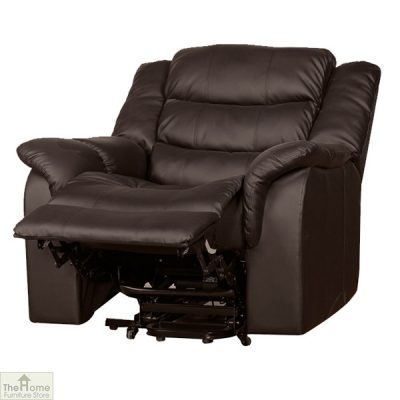 Livorno Leather Reclining Armchair_5
