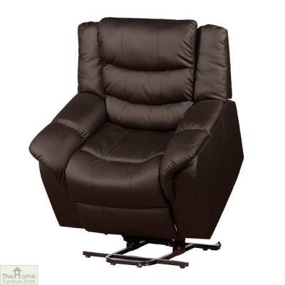Livorno Leather Reclining Massage Armchair_7