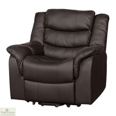 Livorno Leather Reclining Armchair_3