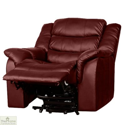 Livorno Leather Reclining Massage Armchair_14