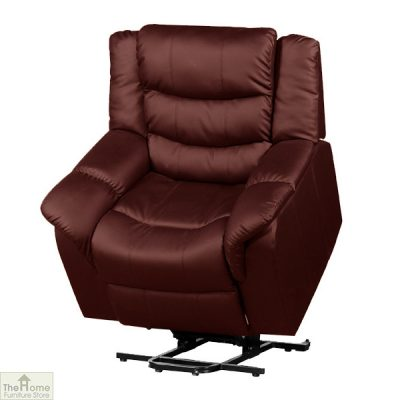 Livorno Leather Reclining Massage Armchair_15
