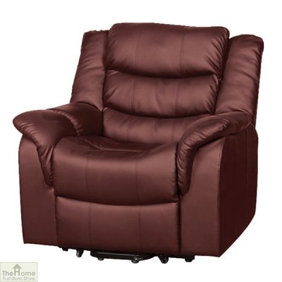 Livorno Leather Reclining Massage Armchair_12