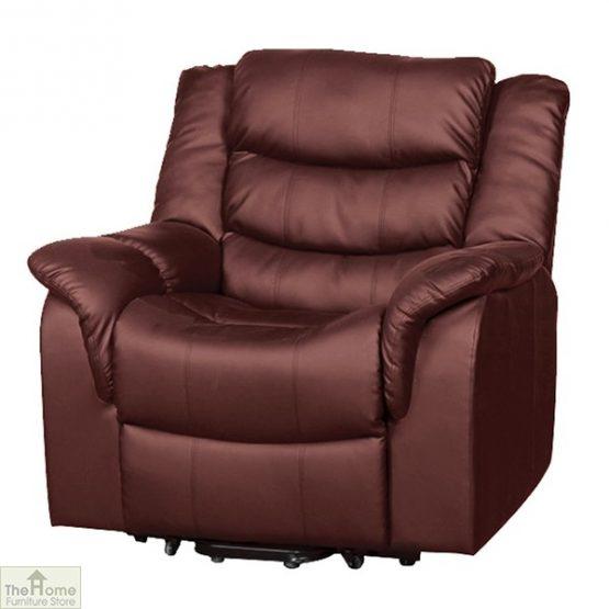 Livorno Leather Reclining Massage Armchair_12