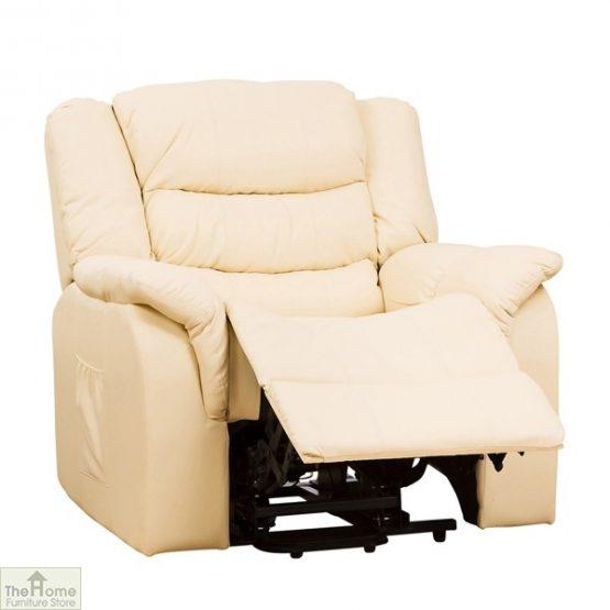 Livorno Leather Reclining Massage Armchair_1