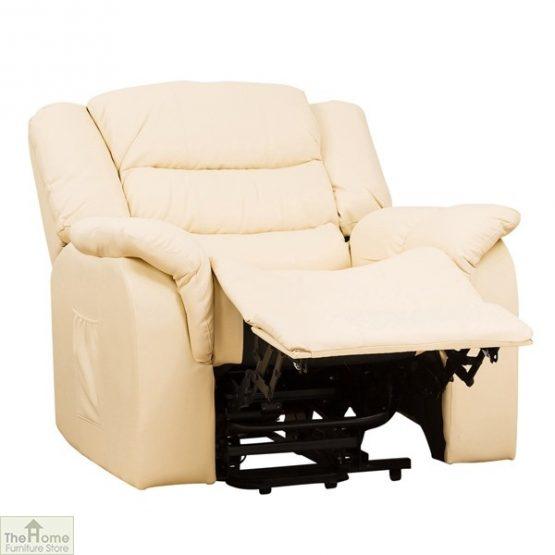 Livorno Leather Reclining Massage Armchair_2
