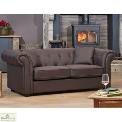Knightsbridge Leather 2 Seat Sofa_5
