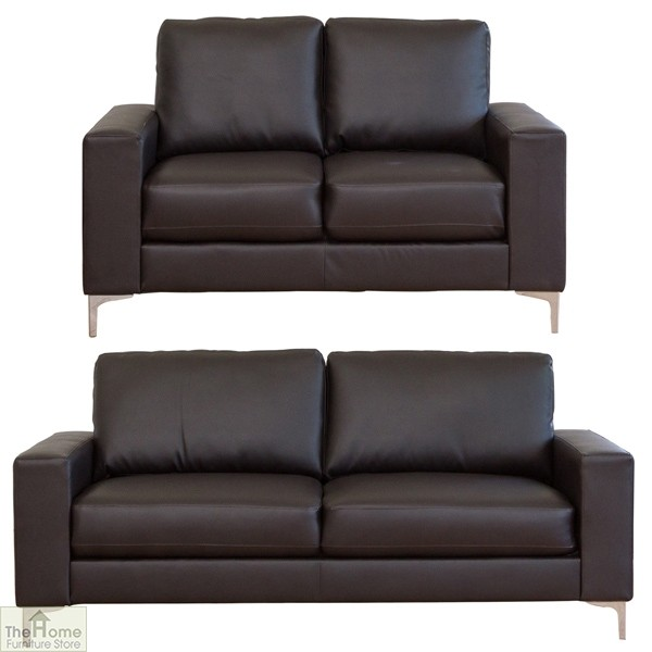 Outstanding Como Leather 2 Seat Sofa The Home Furniture Store Ncnpc Chair Design For Home Ncnpcorg
