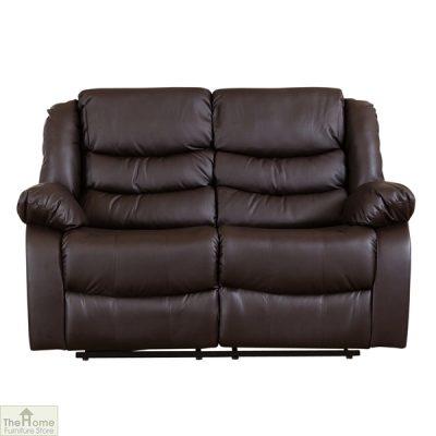 Verona Leather 2 Seat Reclining Sofa_1