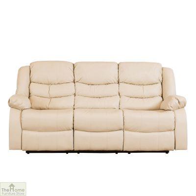 Verona Leather 3 Seat Reclining Sofa_2