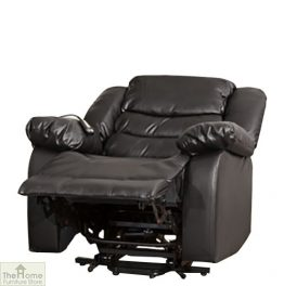 Verona Leather Reclining Armchair_1