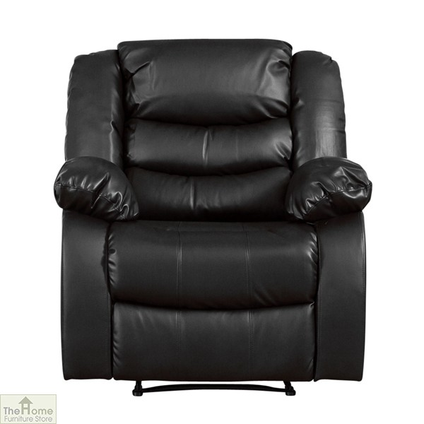 Verona Leather Reclining Armchair