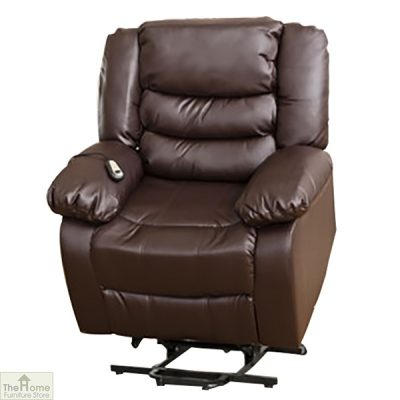 Verona Leather Reclining Armchair_5