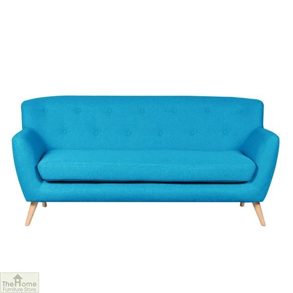 Kingston Fabric 3 Seat Sofa