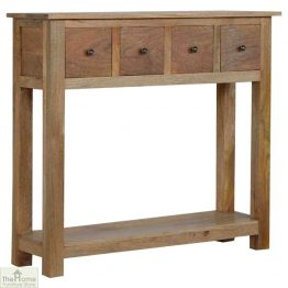 Country 4 Drawer Console Table_1