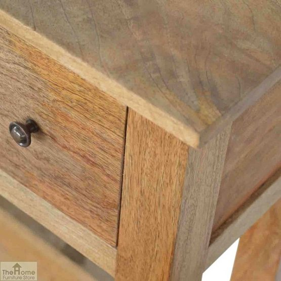 Country 4 Drawer Console Table_7