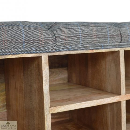 Tweed Wooden Shoe Bench_11