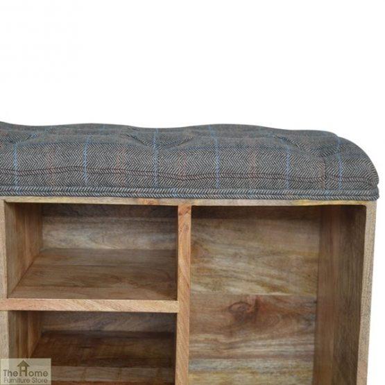 Tweed Wooden Shoe Bench_12