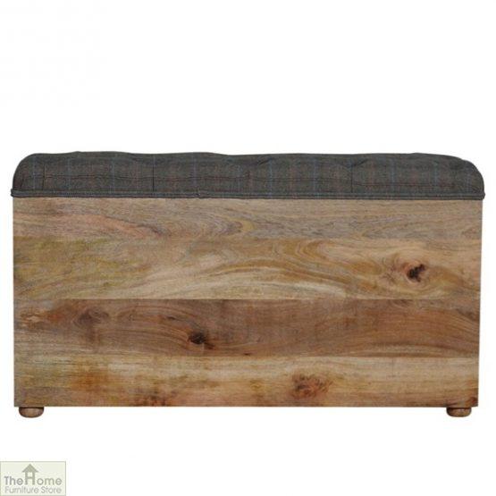 Tweed Wooden Shoe Bench_3