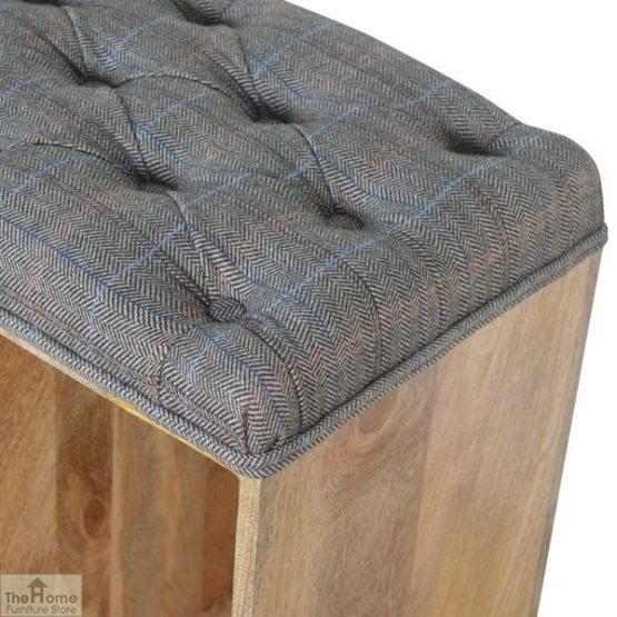 Tweed Wooden Shoe Bench_6
