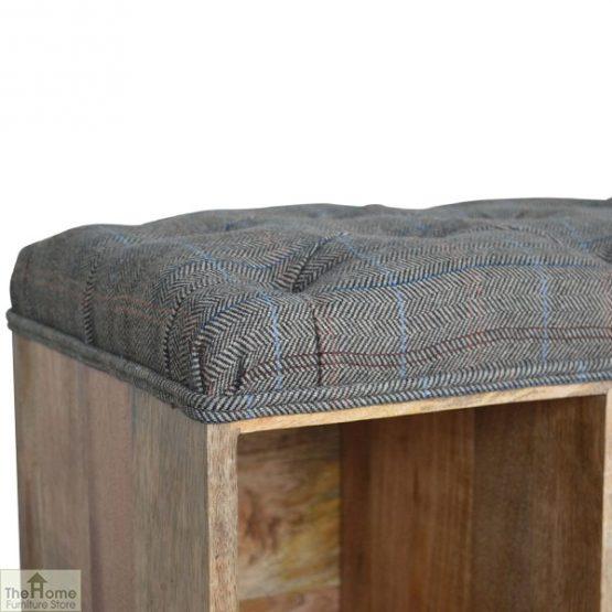Tweed Wooden Shoe Bench_10