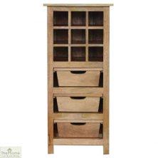 3 Drawer Wine Cabinet