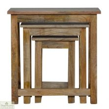 Wooden Nest 3 Tables