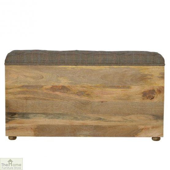 Tweed 1 Drawer Shoe Bench_3