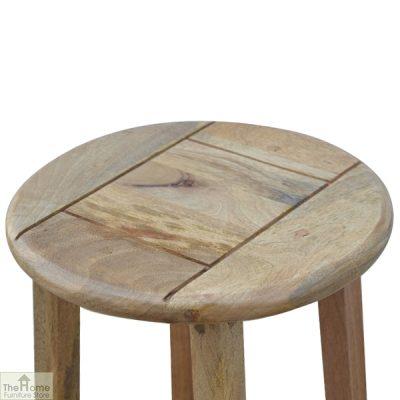Wooden Breakfast Table Set_12