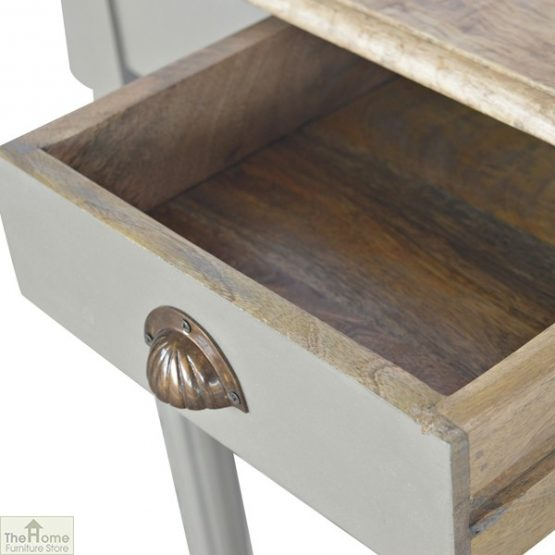 Grey 1 Drawer Console Table_6