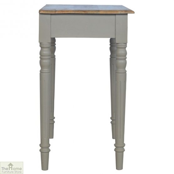Grey 1 Drawer Console Table_4