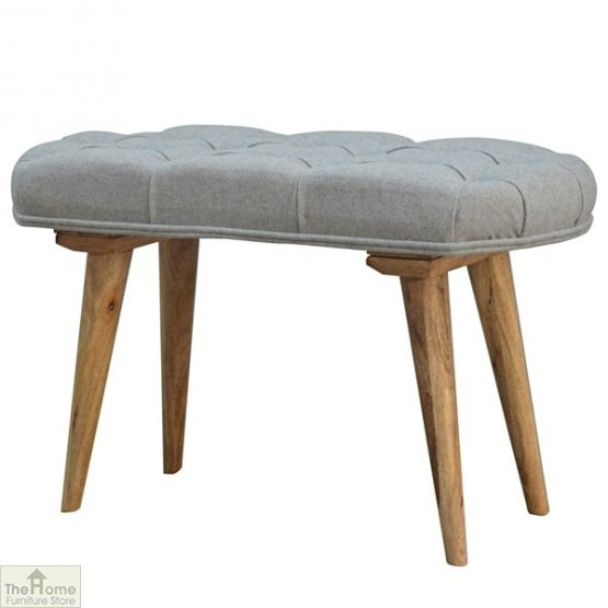 Grey Tweed Petite Bench_2
