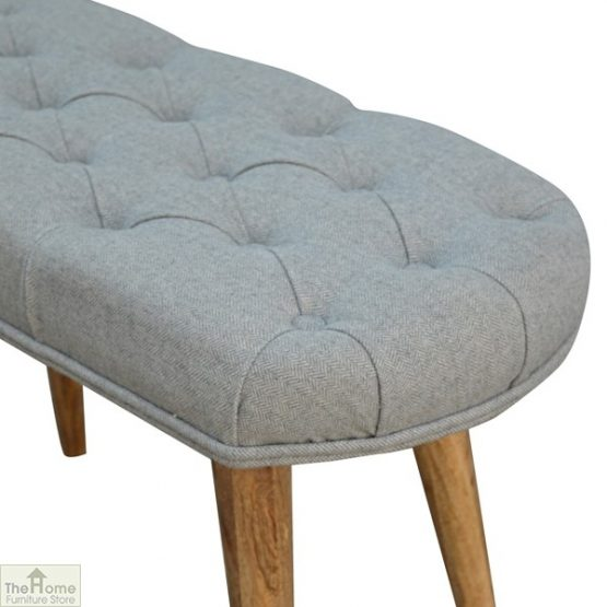 Grey Tweed Petite Bench_5
