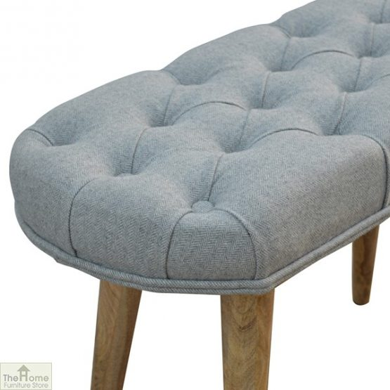 Grey Tweed Petite Bench_4