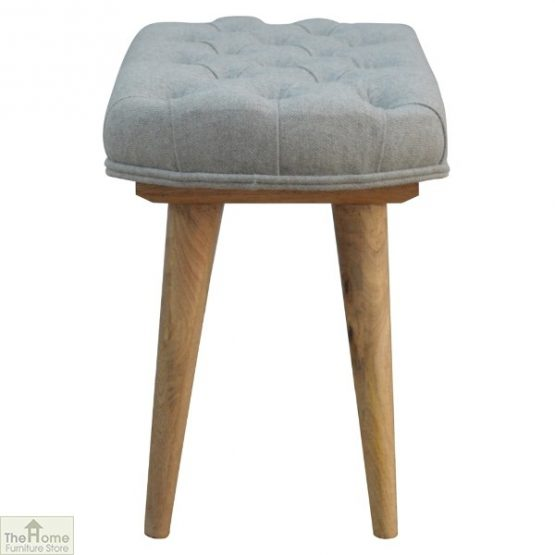 Grey Tweed Petite Bench_3
