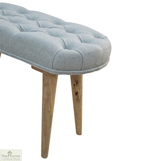 Grey Tweed Petite Bench_6