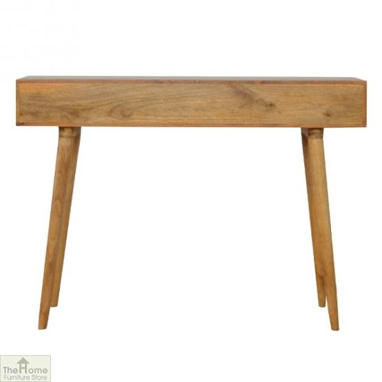 Geometric Print 3 Drawer Console Table_3