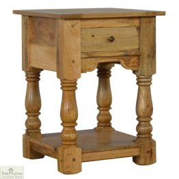 Country 1 Drawer End Table_1