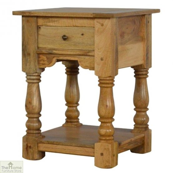 Country 1 Drawer End Table_2