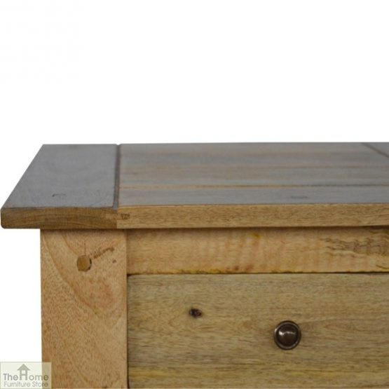 Country 1 Drawer End Table_6