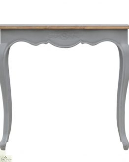 French Grey Console Table